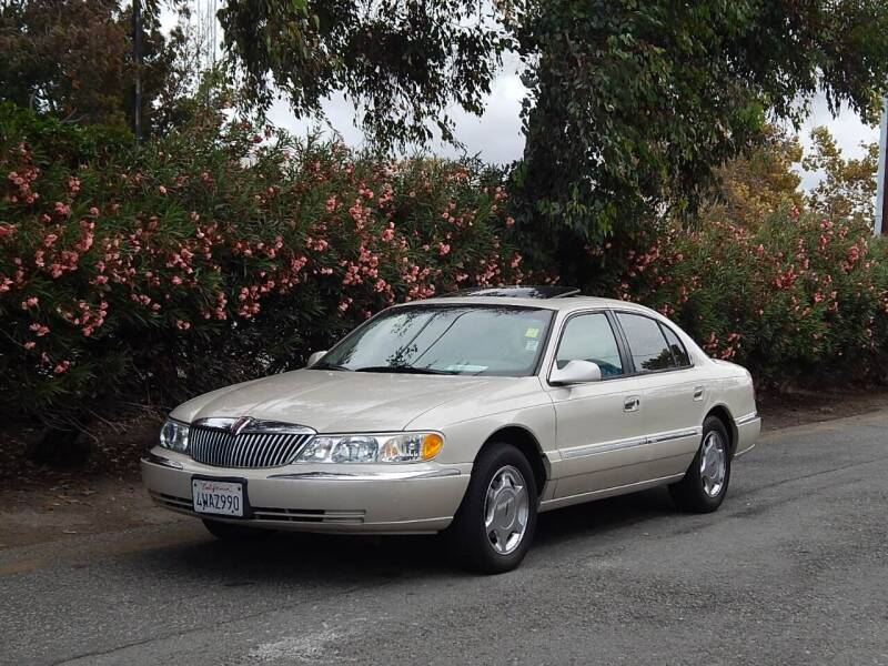 2002 Lincoln Continental for sale at Crow`s Auto Sales in San Jose CA