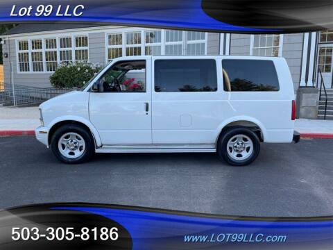 2004 Chevrolet Astro for sale at LOT 99 LLC in Milwaukie OR