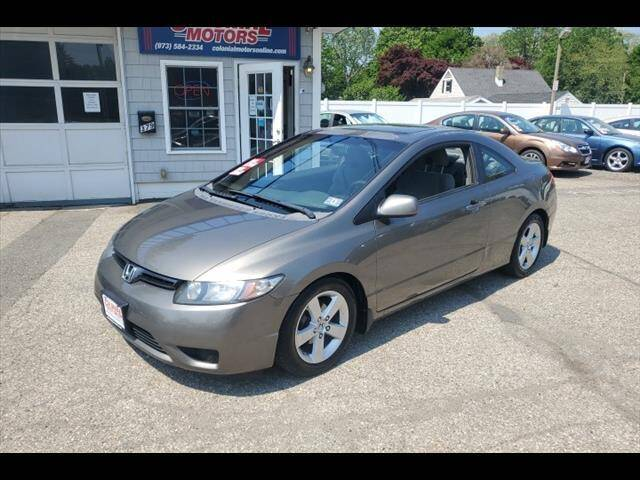 2008 Honda Civic for sale at Colonial Motors in Mine Hill NJ