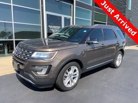 2016 Ford Explorer for sale at Autohaus Group of St. Louis MO - 3015 South Hanley Road Lot in Saint Louis MO