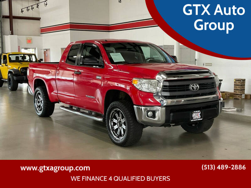 2014 Toyota Tundra for sale at GTX Auto Group in West Chester OH