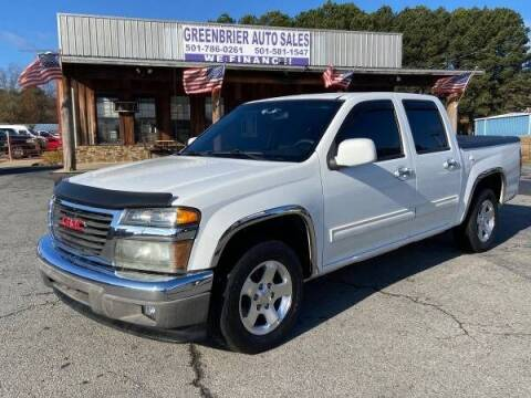 2010 GMC Canyon for sale at Greenbrier Auto Sales in Greenbrier AR