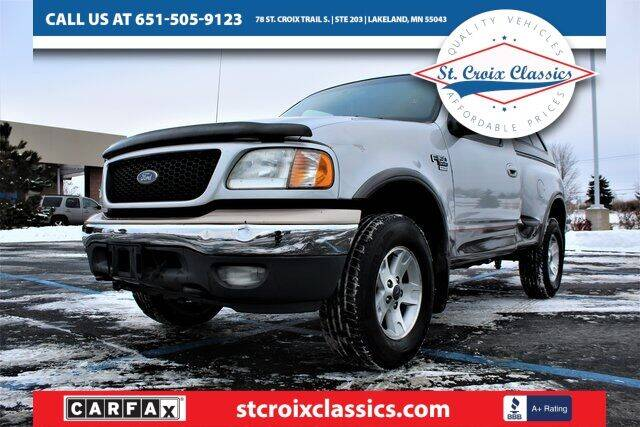 2002 Ford F-150 for sale at St. Croix Classics in Lakeland MN