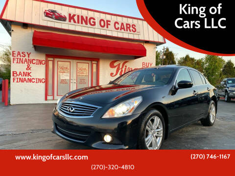 2011 Infiniti G37 Sedan for sale at King of Cars LLC in Bowling Green KY