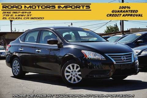 2013 Nissan Sentra for sale at Road Motors Imports in El Cajon CA