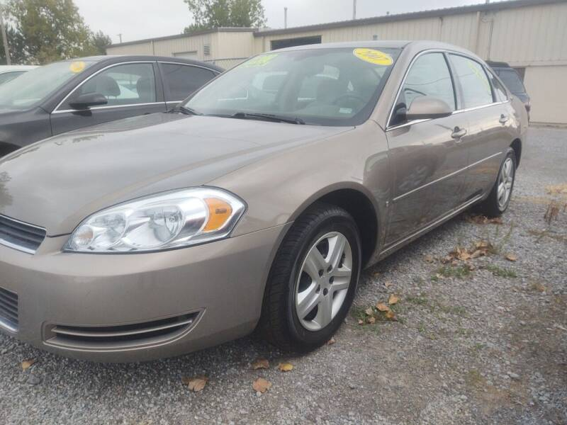 2007 Chevrolet Impala for sale at Mr E's Auto Sales in Lima OH