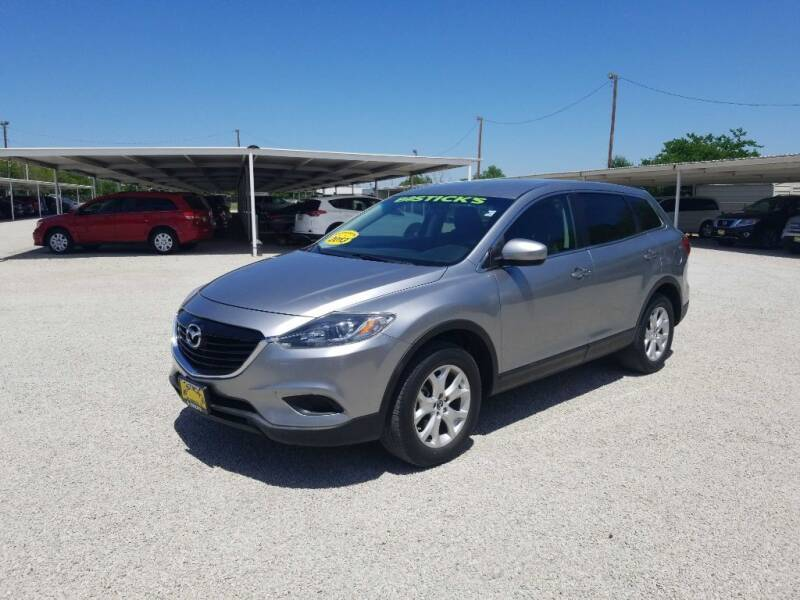2013 Mazda CX-9 for sale at Bostick's Auto & Truck Sales LLC in Brownwood TX