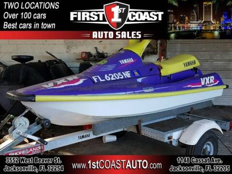 1995 Yamaha VXR for sale at 1st Coast Auto -Cassat Avenue in Jacksonville FL