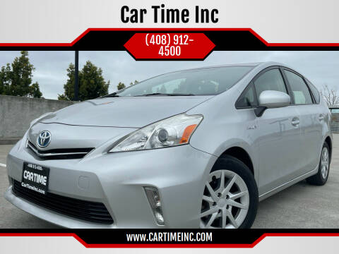 2012 Toyota Prius v for sale at Car Time Inc in San Jose CA