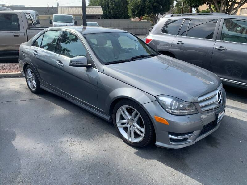 2012 Mercedes-Benz C-Class for sale at In-House Auto Finance in Hawthorne CA