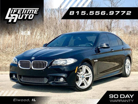 2015 BMW 5 Series for sale at Lifetime Auto in Elwood IL
