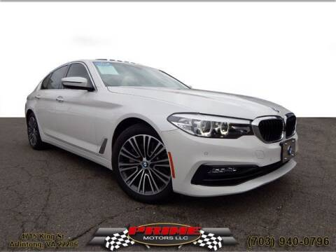 2017 BMW 5 Series for sale at PRIME MOTORS LLC in Arlington VA