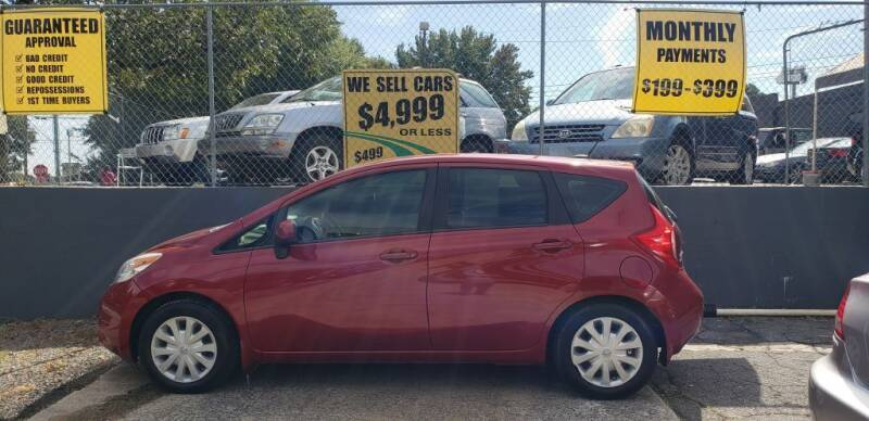2014 Nissan Versa Note for sale at On The Road Again Auto Sales in Doraville GA