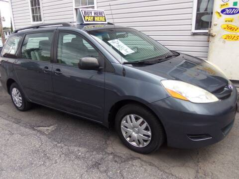 2006 Toyota Sienna for sale at Fulmer Auto Cycle Sales - Fulmer Auto Sales in Easton PA
