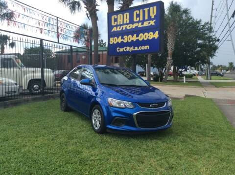 2017 Chevrolet Sonic for sale at Car City Autoplex in Metairie LA