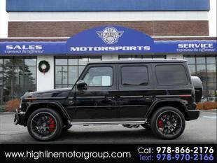2021 Mercedes-Benz G-Class for sale at Highline Group Motorsports in Lowell MA