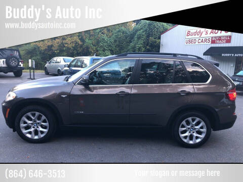 2013 BMW X5 for sale at Buddy's Auto Inc in Pendleton SC