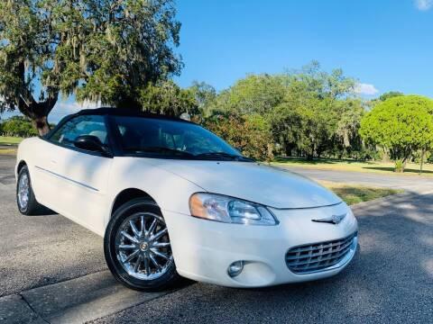 2002 Chrysler Sebring for sale at FLORIDA MIDO MOTORS INC in Tampa FL