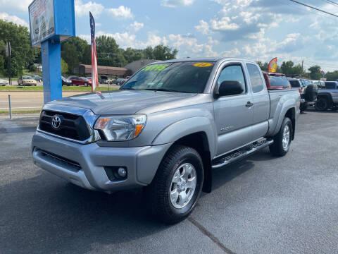 2014 Toyota Tacoma for sale at Elk Avenue Auto Brokers in Elizabethton TN