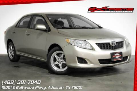 2009 Toyota Corolla for sale at EXTREME SPORTCARS INC in Carrollton TX