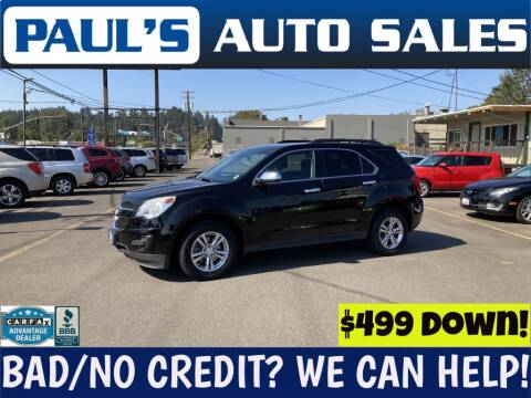 2013 Chevrolet Equinox for sale at Paul's Auto Sales in Eugene OR