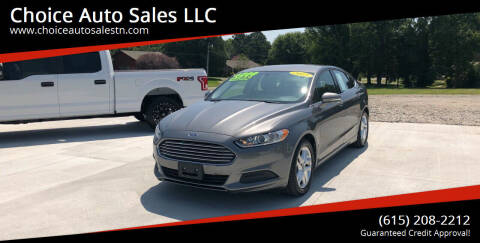 2013 Ford Fusion for sale at Choice Auto Sales LLC - Cash Inventory in White House TN