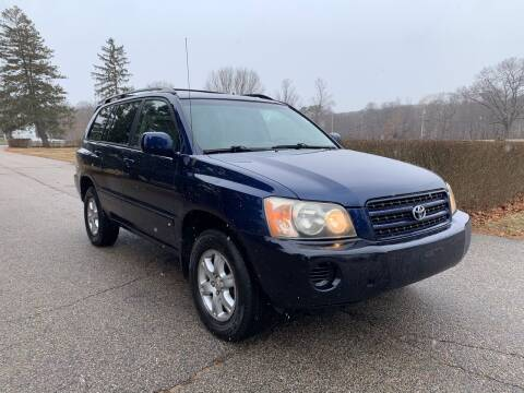 2003 Toyota Highlander for sale at 100% Auto Wholesalers in Attleboro MA