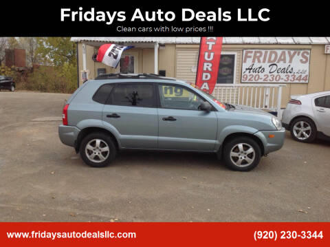 2006 Hyundai Tucson for sale at Fridays Auto Deals LLC in Oshkosh WI