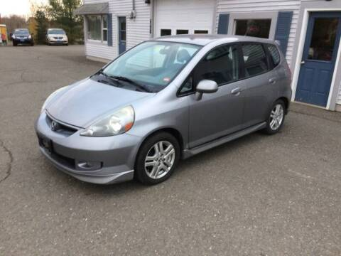 2008 Honda Fit for sale at CLARKS AUTO SALES INC in Houlton ME