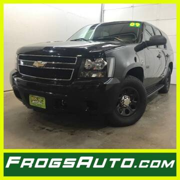 2009 Chevrolet Tahoe for sale at Frogs Auto Sales in Clinton IA