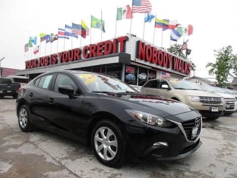 2015 Mazda MAZDA3 for sale at Giant Auto Mart 2 in Houston TX