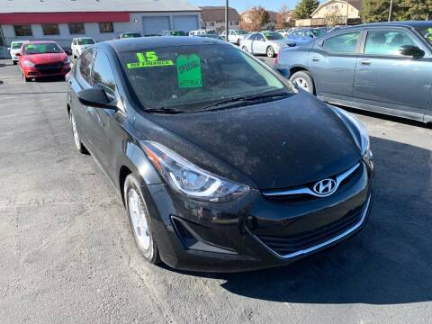2015 Hyundai Elantra for sale at Choice Motors of Salt Lake City in West Valley  City UT
