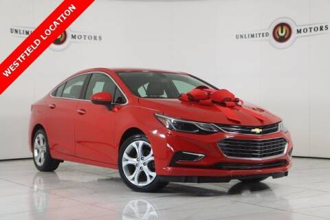 2017 Chevrolet Cruze for sale at INDY'S UNLIMITED MOTORS - UNLIMITED MOTORS in Westfield IN
