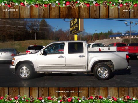 2012 Chevrolet Colorado for sale at S & B MOTOR CO in Danville VA