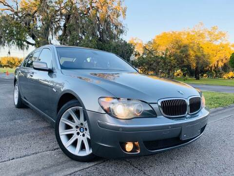 2006 BMW 7 Series for sale at FLORIDA MIDO MOTORS INC in Tampa FL