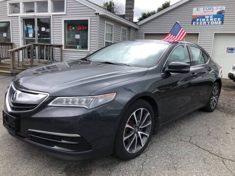 2016 Acura TLX for sale at Top Line Import in Haverhill MA