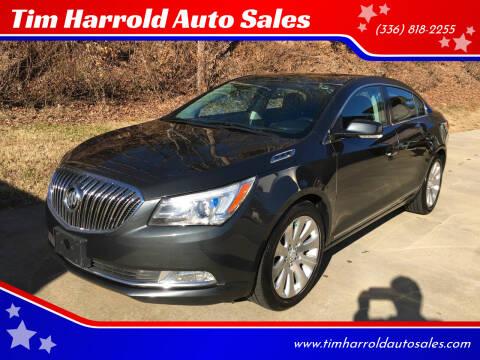2014 Buick LaCrosse for sale at Tim Harrold Auto Sales in Wilkesboro NC
