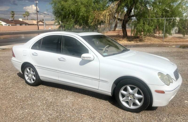 2001 Mercedes-Benz C-Class for sale at GEM Motorcars in Henderson NV