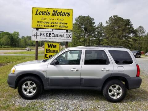 2006 Mazda Tribute for sale at Lewis Motors LLC in Deridder LA