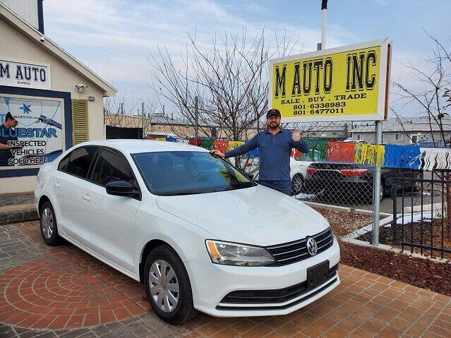 2016 Volkswagen Jetta for sale at M AUTO, INC in Millcreek UT