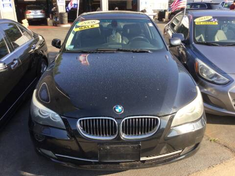 2008 BMW 5 Series for sale at Olsi Auto Sales in Worcester MA