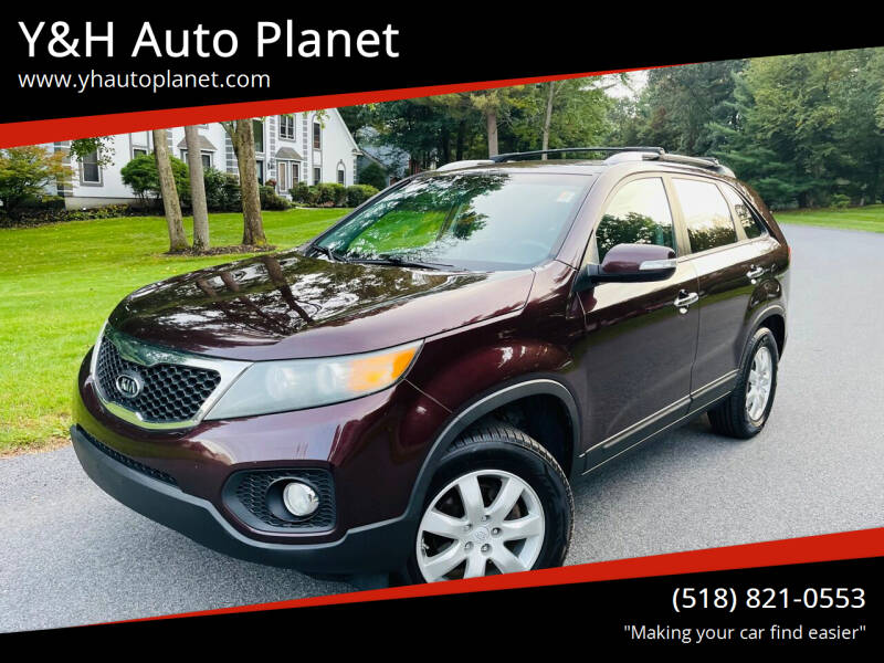 2011 Kia Sorento for sale at Y&H Auto Planet in West Sand Lake NY