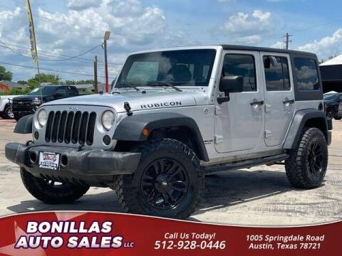 2011 Jeep Wrangler Unlimited for sale at Bonillas Auto Sales in Austin TX