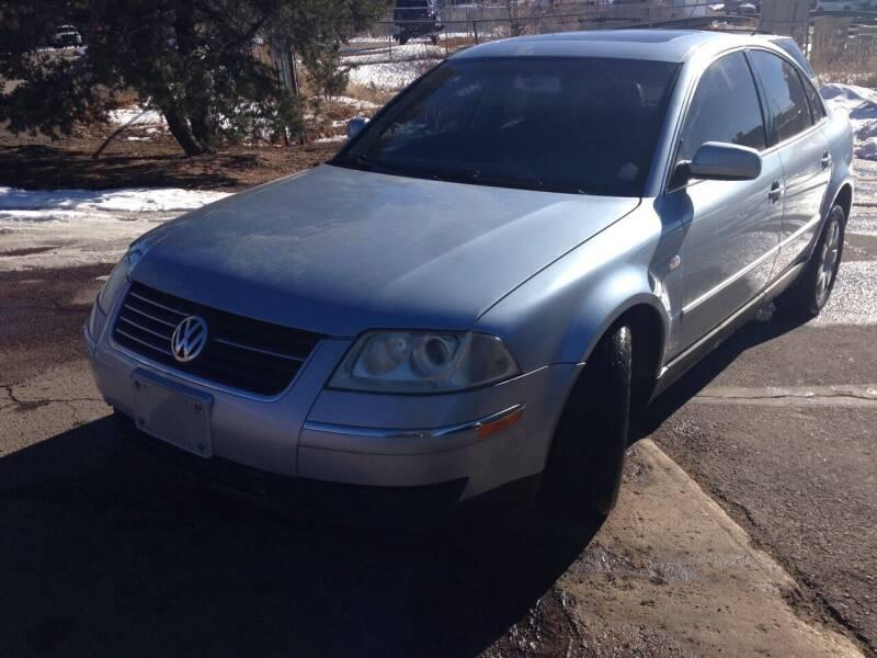 2003 Volkswagen Passat for sale at Cherry Motors in Castle Rock CO