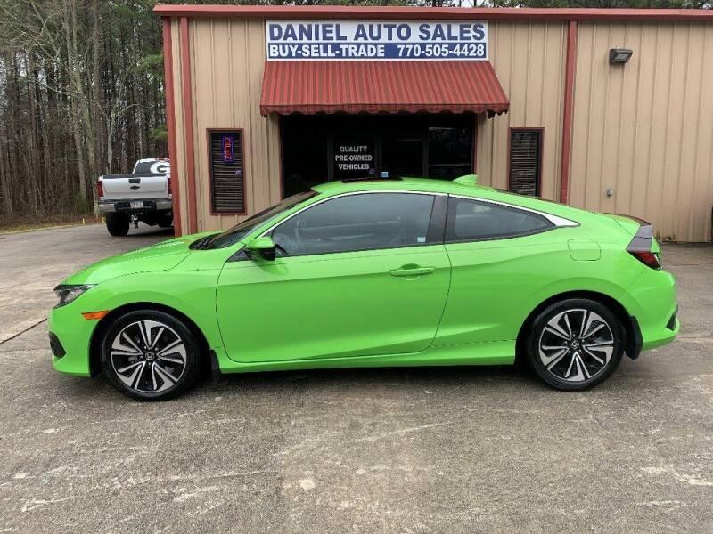 2017 Honda Civic for sale at Daniel Used Auto Sales in Dallas GA