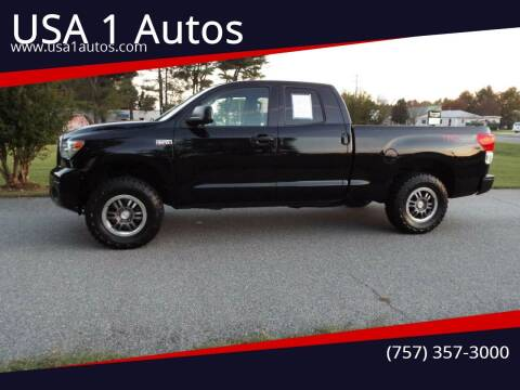 2013 Toyota Tundra for sale at USA 1 Autos in Smithfield VA