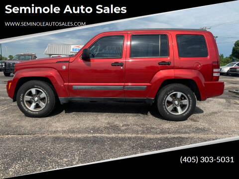 2008 Jeep Liberty for sale at Seminole Auto Sales in Seminole OK