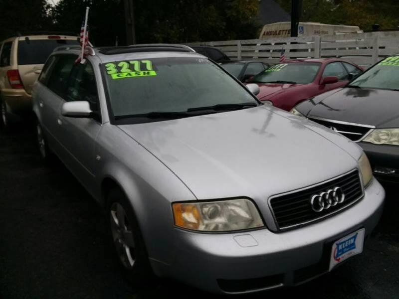2003 Audi A6 for sale at Klein on Vine in Cincinnati OH
