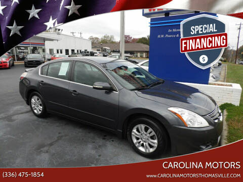 2012 Nissan Altima for sale at CAROLINA MOTORS in Thomasville NC