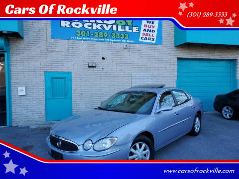 2006 Buick LaCrosse for sale at Cars Of Rockville in Rockville MD